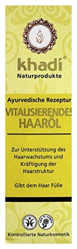 KHADI Huile de soin capillaire revitalisante - 100ml