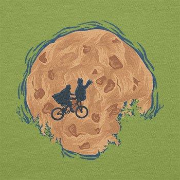 Texlab–Cookie E.T.–sacchetto di stoffa Verde chiaro