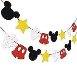 Hooggle Kit de decoración de la Fiesta de Mickey Mouse, Mickey I
