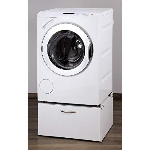 Xavax Trockner-/Waschmaschinen-Untergestell (mit Schublade, 61 x 60 cm, Unterbau-Sockel mit...