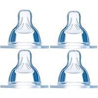 MAM Babyartikel 99964012 - Pack de 4 tetinas para biberón (medidas 1 y 2)