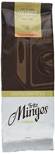 Fritz Minges Columbia Excelso in Bohnen, Aroma-Softpack, 2er Pack (2 x 250 g)