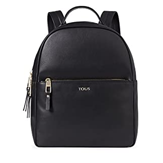 41oyzccdBFL. SS324  - Tous Higgins, Bolso mochila para Mujer, (Negro 695890197), 27.5x33x11.5 cm (W x H x L)