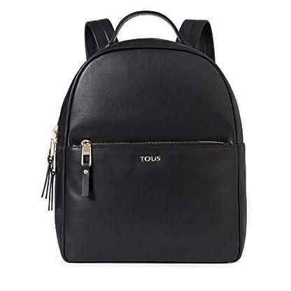 41oyzccdBFL. SS416  - Tous Higgins, Bolso mochila para Mujer, (Negro 695890197), 27.5x33x11.5 cm (W x H x L)