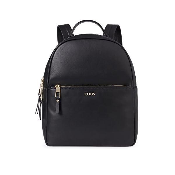 41oyzccdBFL. SS600  - Tous Higgins, Bolso mochila para Mujer, Negro (Negro 695890197), 27.5x33x11.5 cm (W x H x L)