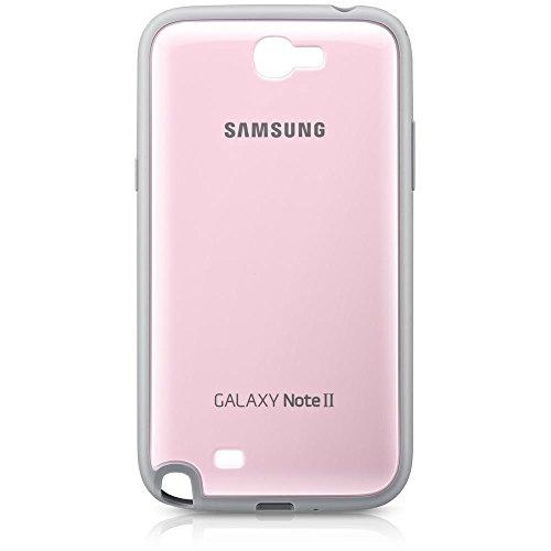 Samsung EFC-1J9BPEGSTD Protective Cover per Galaxy Note 2, Rosa