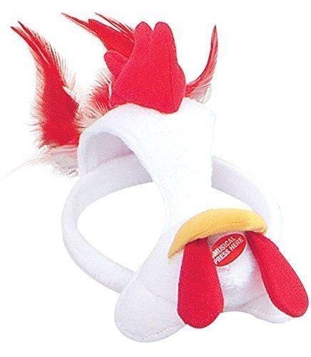 Fancy Me Damen Herren Mädchen Jungen Animal Halloween Buch Kostüm Gesichtsmaske mit Ton Kostüm Outfit Zubehör - Huhn (Buch Kostüme Für Jungen)