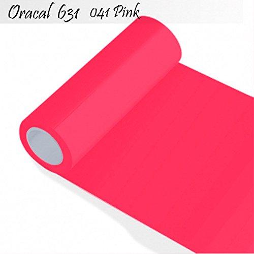 Oracal 631 - Orafol matt - Plotterfolie - für Küchenschränke und Dekoration Folie 5m Rolle Rolle - 31,5 cm Folienhöhe - 41-pink -...