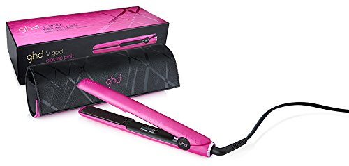 GHD V Gold Electric - Haarglätter, Pink