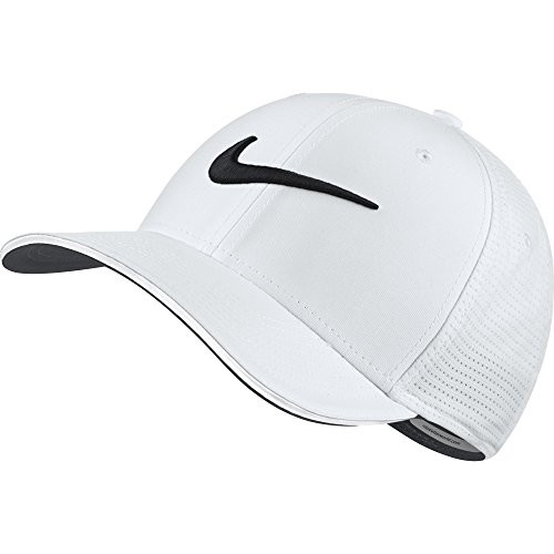 Nike classic99Mesh Casquette de Golf Homme, Homme, Classic99 Mesh, Blanc (101)