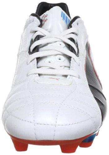 Puma King Fg - Stivali Uomo, , taglia Bianco (Weiß (metallic white-black-hawa 03))