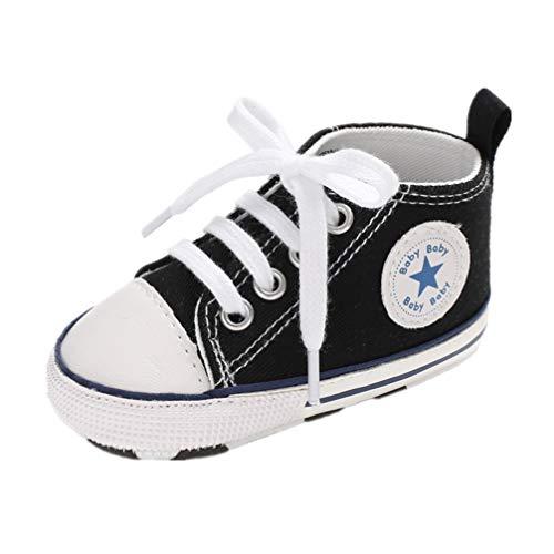 Auxma Niedlich Kind Baby Säugling Junge Mädchen weiche Sohle Kleinkind Schuhe Leinwand Sneak (0-6 Monat, ZZ) (Kleinkind Schuhe Mädchen)
