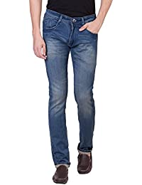 Spanish By Flying Port Men's Slim Fit Stretchable Jeans