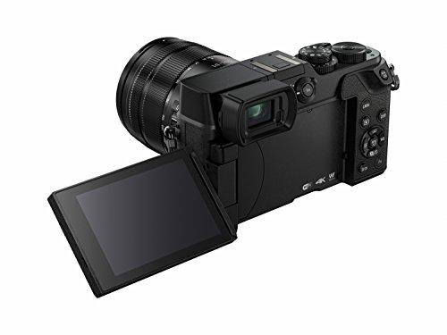 Panasonic LUMIX G DMC-GX8KEG-K Systemkamera (20 Megapixel, Dual I.S. Bildstabilisator, 4K Foto / Video, Staub-/Spritzwasserschutz) mit Objektiv H-FS1442KA schwarz - 3