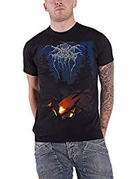 Darkthrone T Shirt Arctic Thunder band logo Schwarz metal Nue offiziell Herren