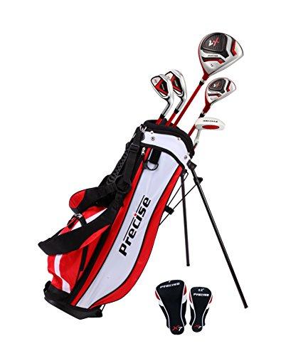 Präzise X7Junior Golf Club Set Für Kinder Kids–3Altersgruppen Größen erhältlich–Mädchen & Jungen–Rechts Hand & links Hand. (Pre-golf-clubs)