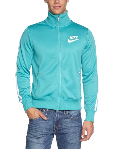 Nike Veste HBR Track pour homme Turquoise