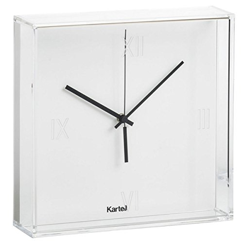 Kartell 190003 - Reloj de pared, color blanco