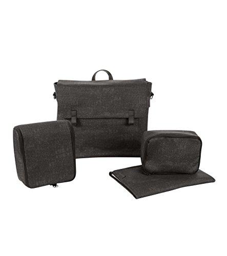 Maxi Cosi Modern Bagpraktische Wickeltasche mit vielen extras, Thermobox, Wickelunterlage, Thermobox, Kulturtasche, Baby-Tasche, Windel-Tasche, schwarz