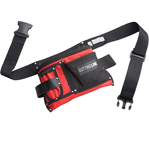 Cutting Line Werkzeug-Gürteltasche - 5 Taschen - Pflegeleicht - Wasserabweisend - Atmungsaktiv /...