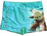 Star Wars Badeshorts Yoda Jungen Badehose (Grün, 128-134)