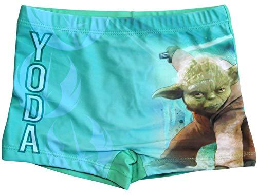 Star Wars Badeshorts Yoda Jungen Badehose (Grün, 140-146)