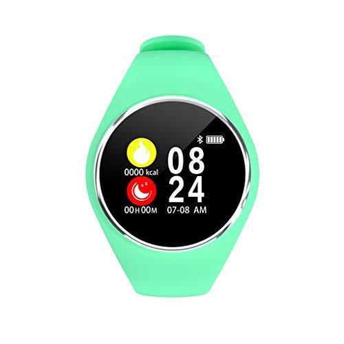 A-Artist Bluetooth Smartwatch Fitness Uhr Intelligente Armbanduhr Fitness Tracker Smart Watch Sport Uhr mit Kamera Schrittzähler Schlaftracker Romte Capture Kompatibel mit Android Smartphone (Grün) M9 Mobile