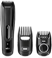 Braun BT5070 Beard Trimmer With 2 Comb Attachments + Soft Bag