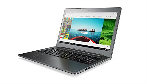 Lenovo Ideapad 510-15IKB Portatile con Display da 15.6' FullHD IPS , Processore Intel Core I5-7200U, RAM 8 GB, 1 TB HDD, Scheda Grafica Nvidia 940MX, S.O. Windows 10 Home, Grigio Metalizzato