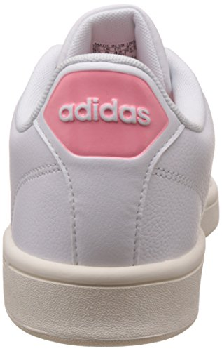 the latest ff38e 36f91 ... adidas Cloudfoam Advantage Clean W, Scarpe da Ginnastica Basse Donna  Bianco (Footwear White  ...