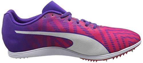 Puma Damen evoSPEED Distance 7 Wn Leichtathletikschuhe Pink (Sparkling Cosmo-Electric Purple-Puma White)