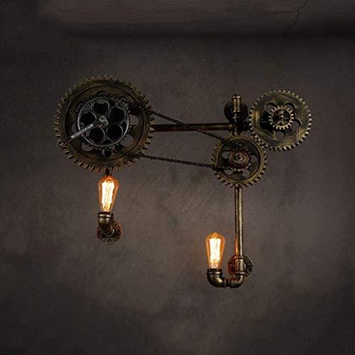 MJYY Licht , Lampe Light Wandleuchte Wandleuchte , Halterung Licht , Kronleuchter , Sache Wandleuchten American Retro Industrial Wind Nostalgic Themenbar Restaurant die Wasserpfeife der Gangschaltung