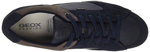 Geox Herren Uomo Snake A Sneaker Blau (Navy)