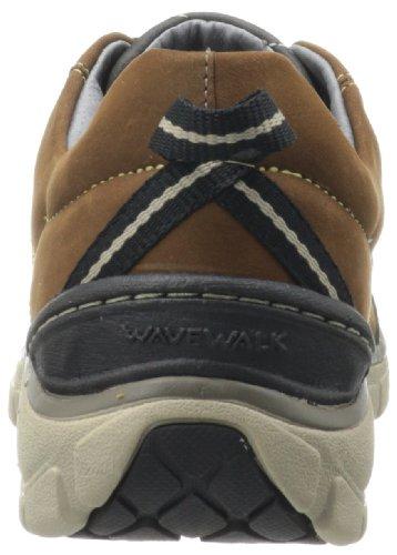 Clarks Vague Trek Sneaker. Nubuck Marron
