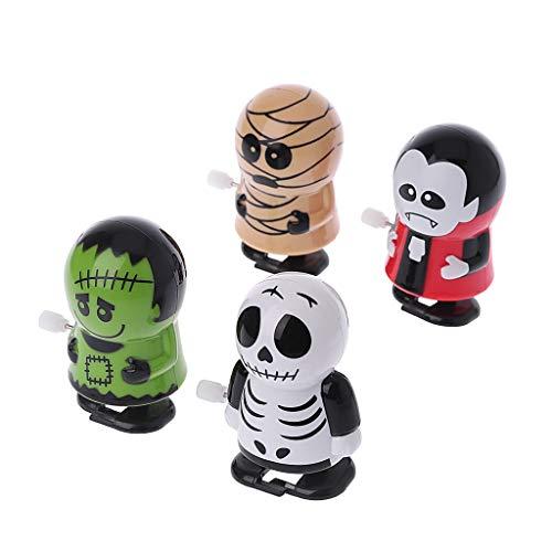 Exing Halloween Wind Ups Aufziehspielzeug Uhrwerk Spielzeug,.5cmx6cmx3.5cm,Dekoration Badewannenspielzeug für Halloween.