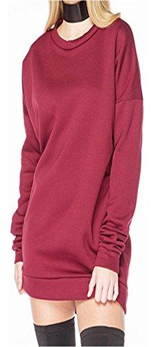 Lozana Paris - Sweat-shirt - Femme Bordeaux