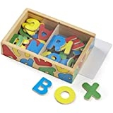 Melissa & Doug Wooden Number Magnets in a Box