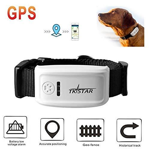 MUXAN Localizador de GPS Collar anti-pérdida de localizador / perseguidor, control remoto...