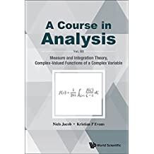 A Course in Analysis:Vol. III: Measure and Integration Theory, Complex-Valued Functions of a Complex Variable