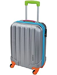 Savebag - Valise rigide 47 Cm - fermeture TSA - 18065/47 format Low-cost - GRIS anthracite- Cap : 29 Litres