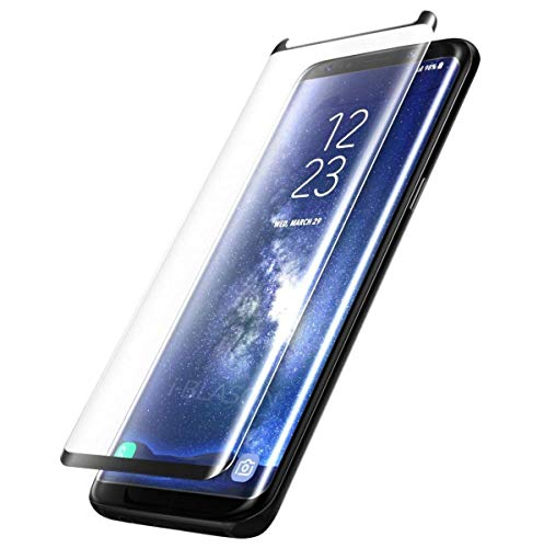 Blaspheme™ 3D Tempered Glass Screen Protector for Samsung Galaxy S8 5.8 (Black Edition)