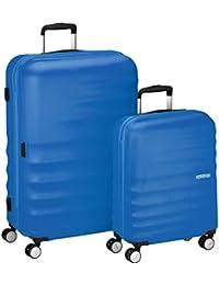American Tourister 74136/2302 WaveBreaker Juego de 2 Maletas, 96 Litros, Color Azul