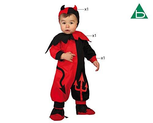 Imagen de atosa  disfraz demonio, bebé 12 24