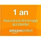 Amazon Protect 1 an assurance dommage accidentel pour téléphones mobiles de 250,00 EUR à 299,99 EUR
