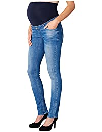 ESPRIT Maternity Damen Umstandsjeans Pants Denim Otb Slim