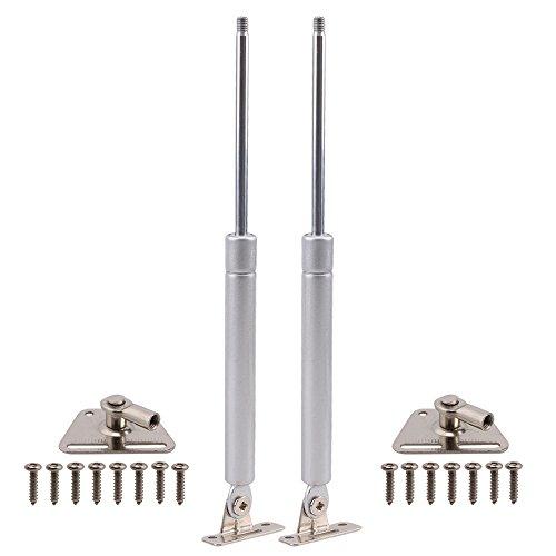 2PCS Langlebig 100N/22.5lb Gas Spring gas Streben Gasdruckfeder Lift Unterstützung für Schrank Tür Pneumatische Hydraulische Gas-lift