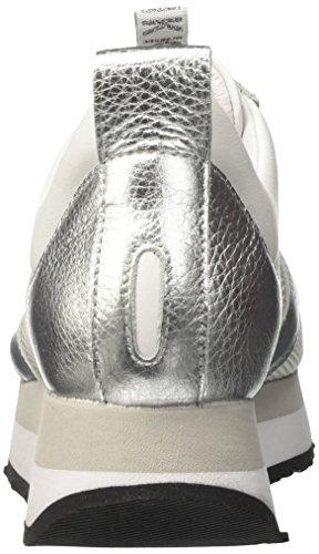 BIKKEMBERGS Damen Winn-Er 724 Niedrige Sneaker Grau (Matte gun)
