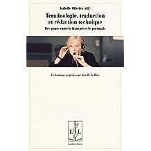 Terminologie, Traduction et Rédaction Technique