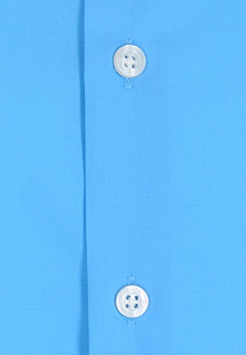 Pure - Slim Fit - Herren Kurzarm Hemd in verschiedenen Farben (3356 727) Blau (16)