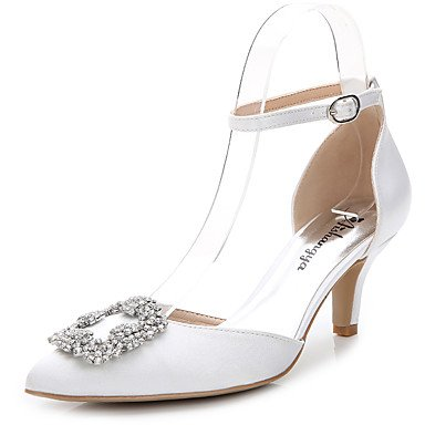 Zormey Chaussures Femmes Talon Carré Bowknot Glisser Sur La Pompe Plus De Couleurs Disponibles US6.5-7 / EU37 / UK4.5-5 / CN37